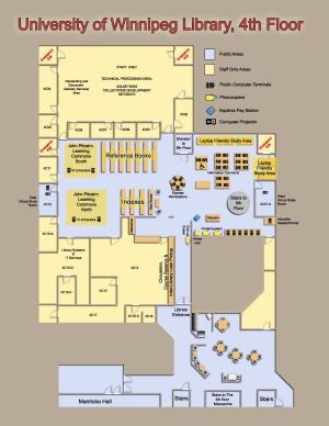 University Of Winnipeg Map Maps and Floorplans | Library | The University of Winnipeg
