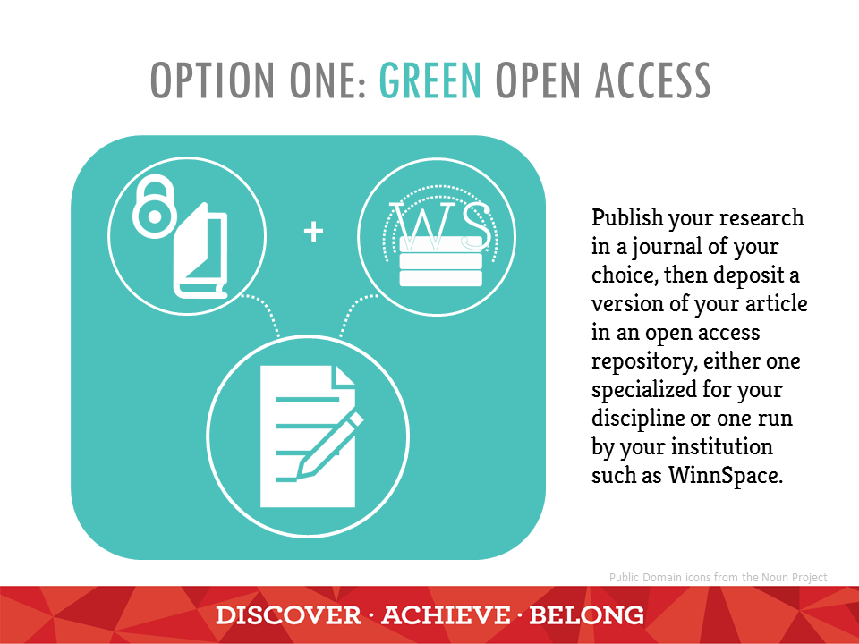 Green Open Access