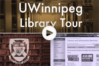 UWinnipeg Library Tour Video